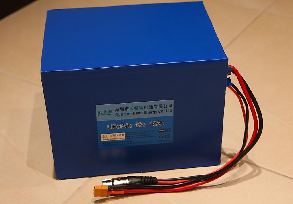 LiFePO4 батареи OptimumNano, напряжение 48В, емкости 10-18Ач, Москва + пересыл